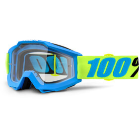 100% Accuri Anti Fog Clear Goggles gul/blå